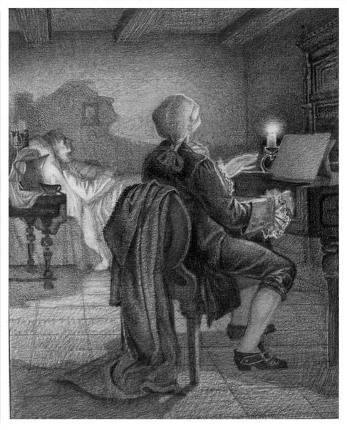 Старый повар   В один из зимних вечеров 1786 года…