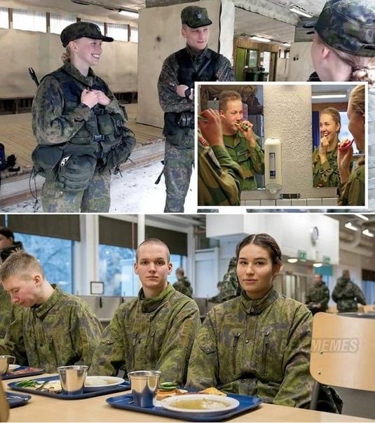 В воинских частях Финляндии разрешили совместное …