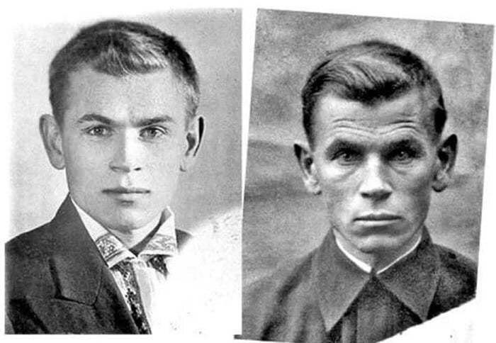 Между этими портретами 4 года войны...